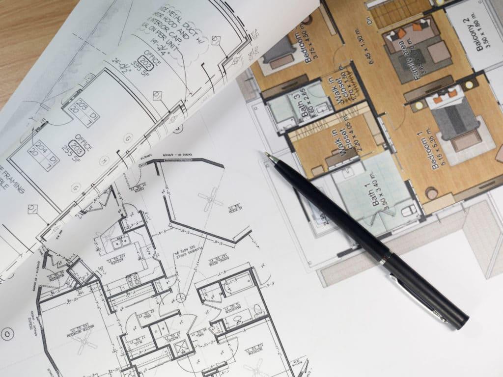 Haus bauen - Plan